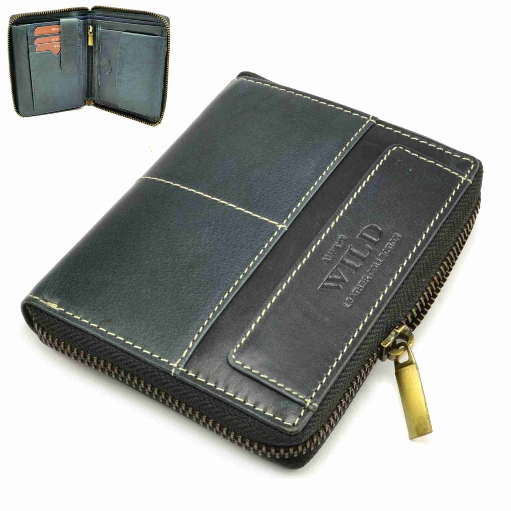 Kožená peněženka pánská moderní - 2