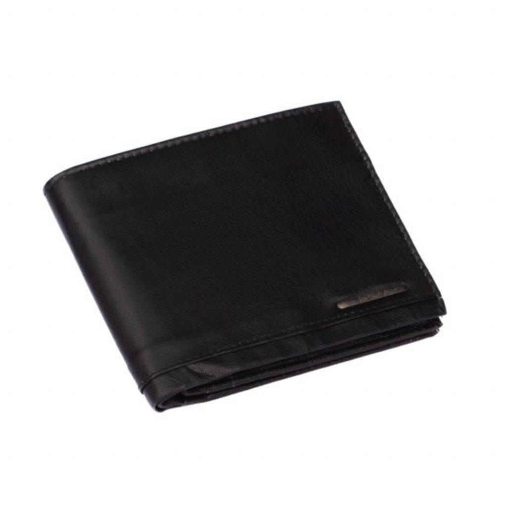 Kožená černá pánská peněženka - 2