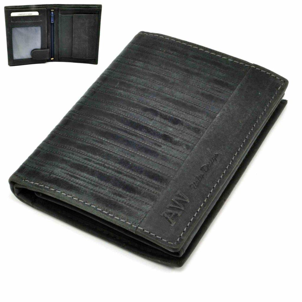 Peněženka pánská kožená moderní - 2