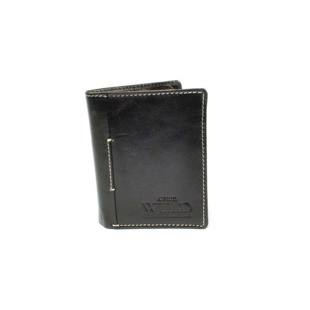 Černá pánská luxusní peněženka - 5