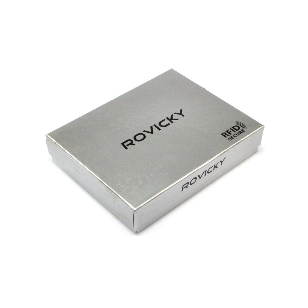 Pánská peněženka hnědá kožená