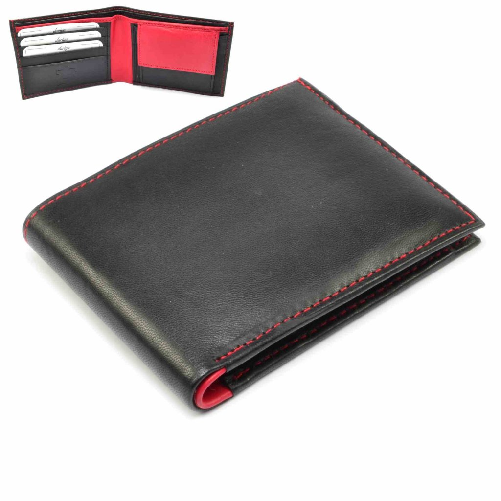 Pánská kožená tenká peněženka