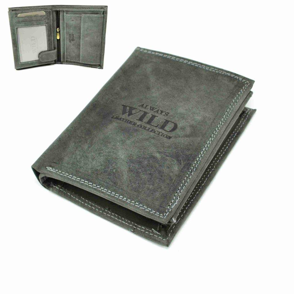 Pánská peněženka kožená barevná