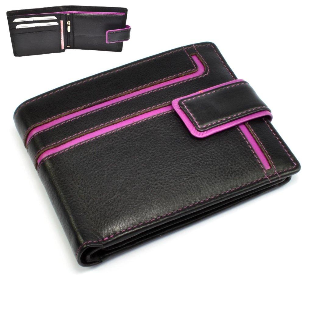 Moderní peněženka pánská kožená - 1