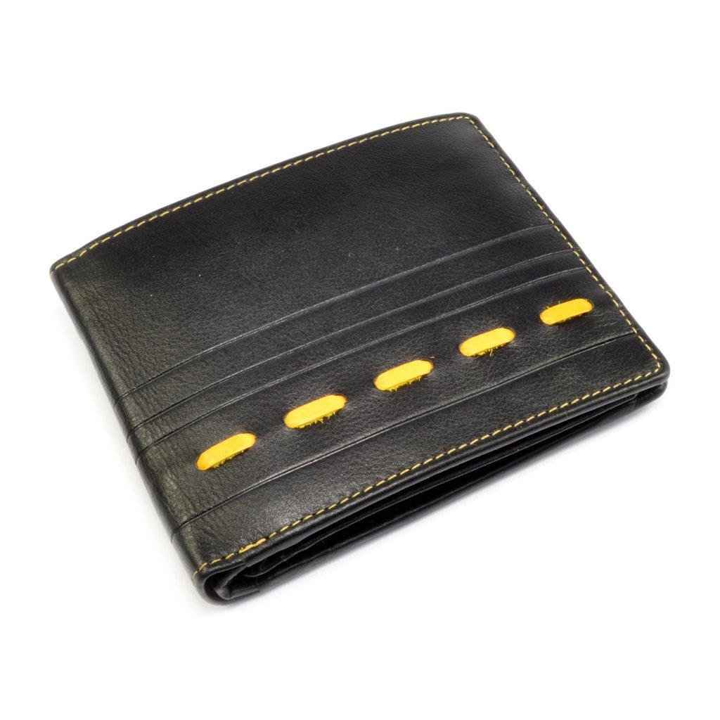 Kožená pánská nezapínací peněženka - 2