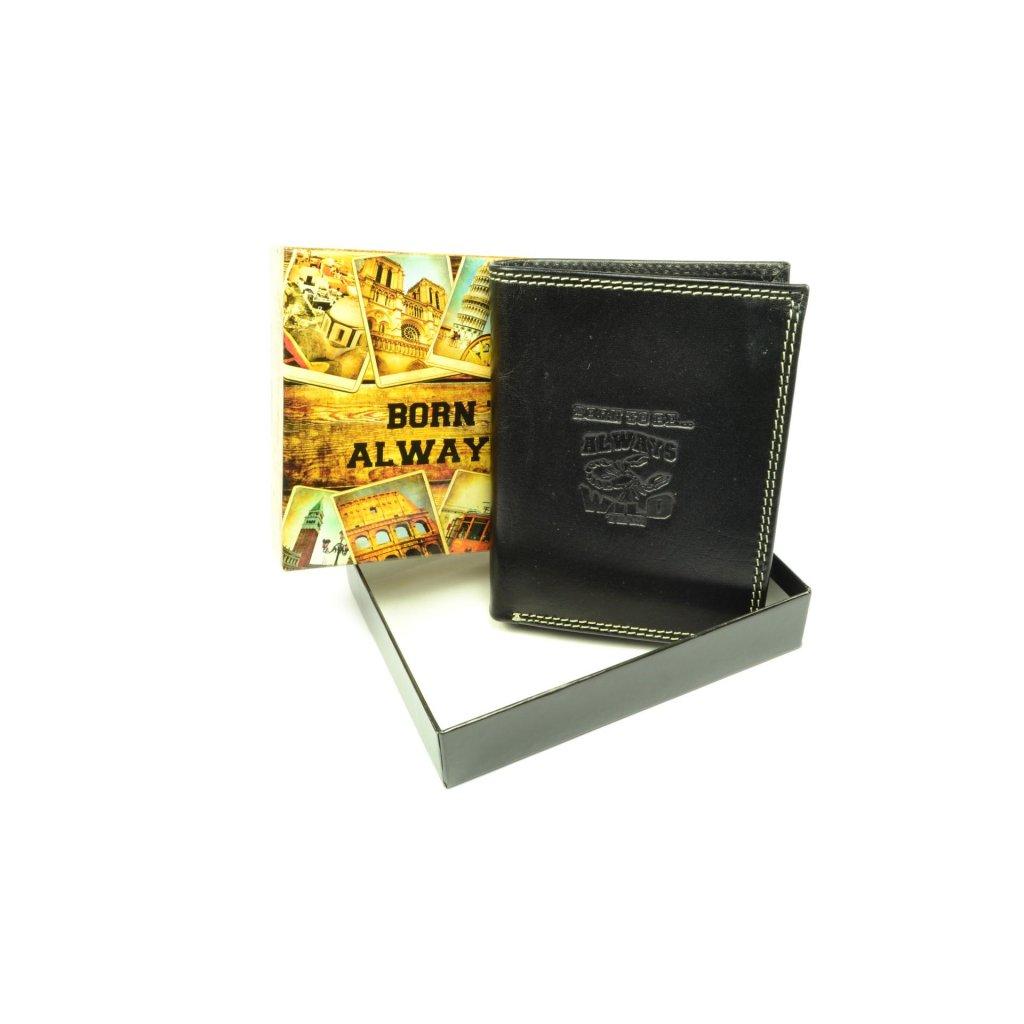 Pánská moderní kožená peněženka - 1