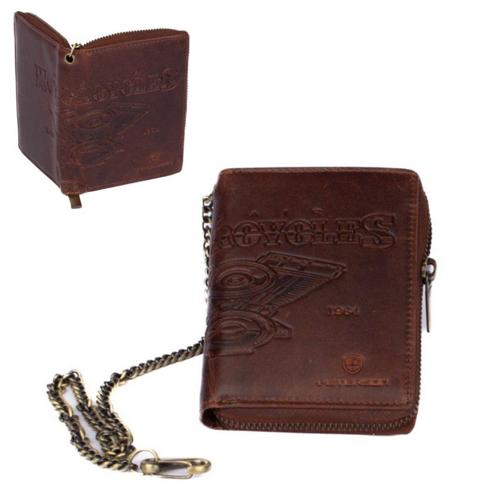 Pánská peněženka na zip