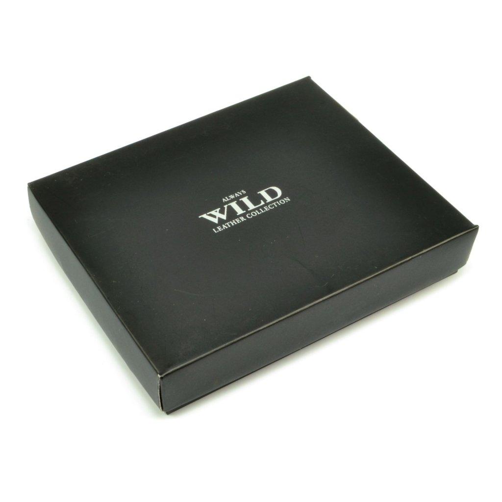 Pánská peněženka kožená hnědá - 1