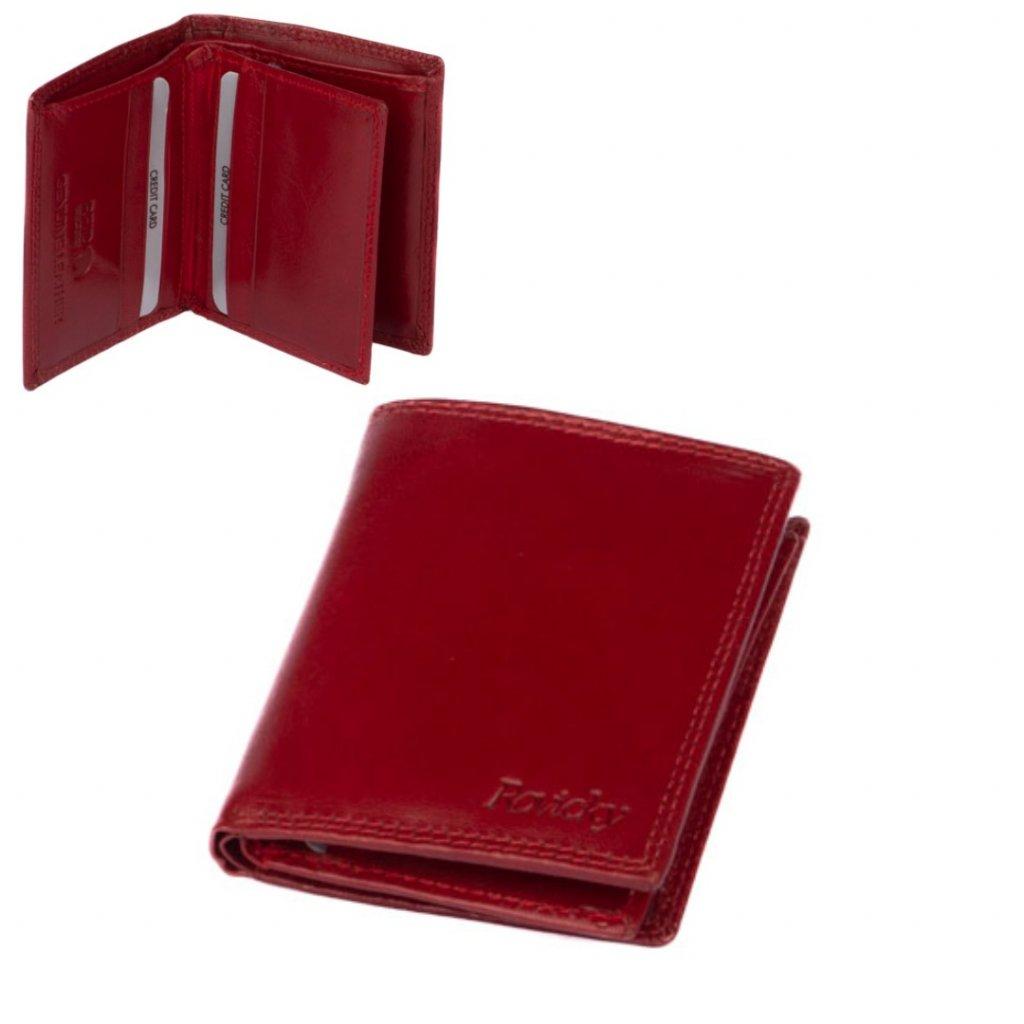 Menší kožená peněženka pánská - 1