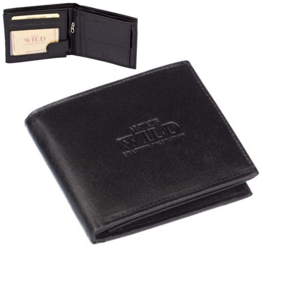 Velká pánská kožená peněženka - 1