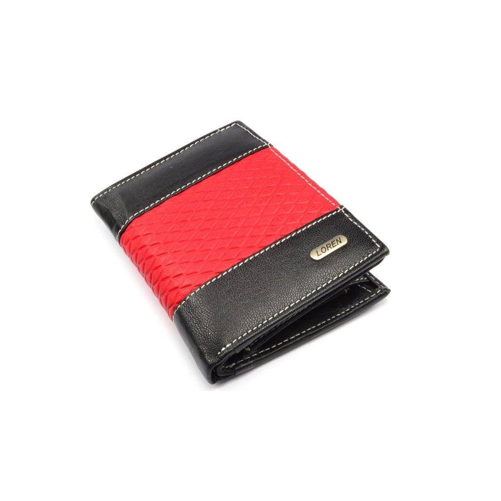 Peněženka moderní pánská kožená