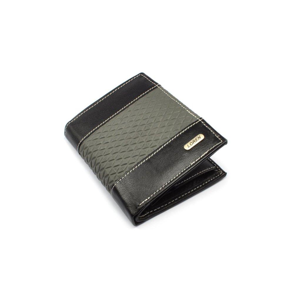 Peněženka kožená pánská moderní - 1