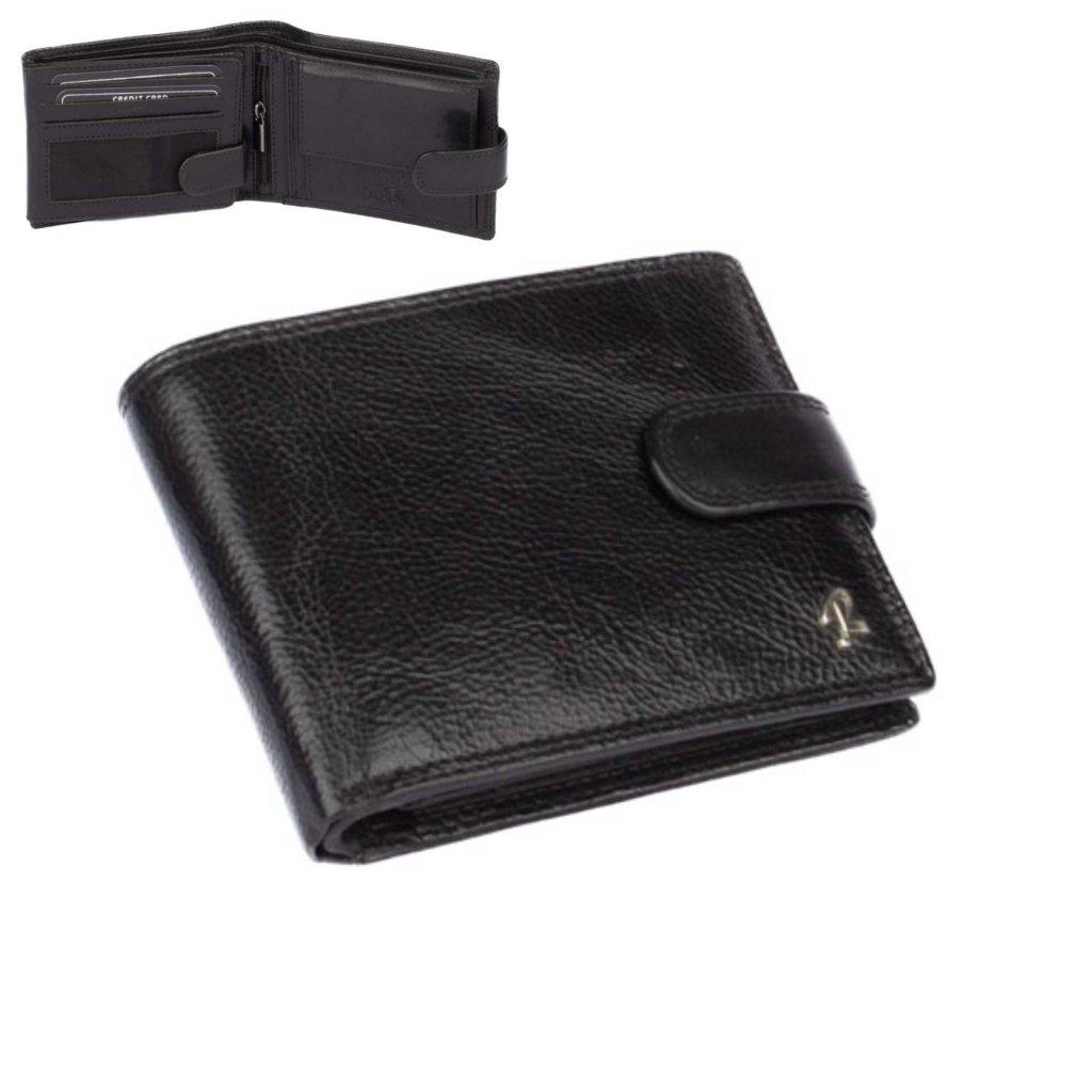 Kožená pánská peněženka zapínací