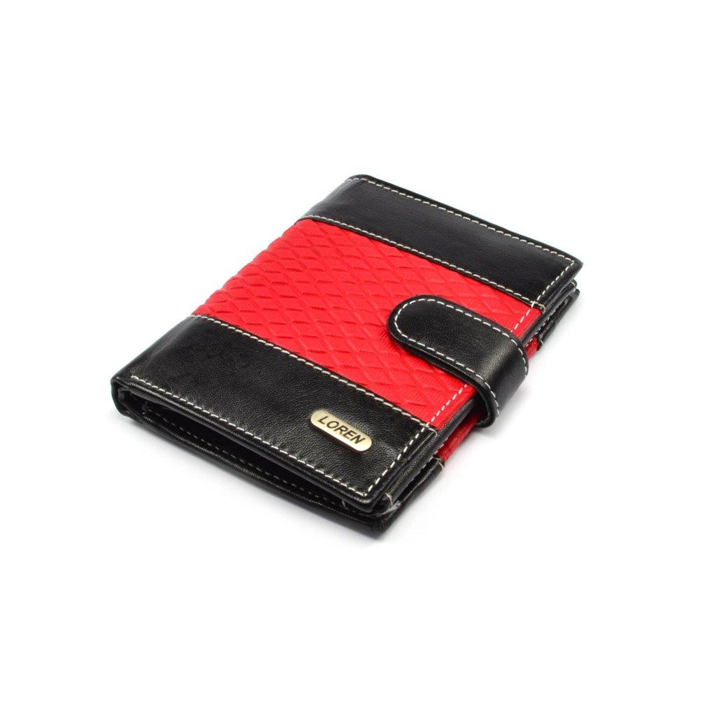 Pánská kožená peněženka tenká