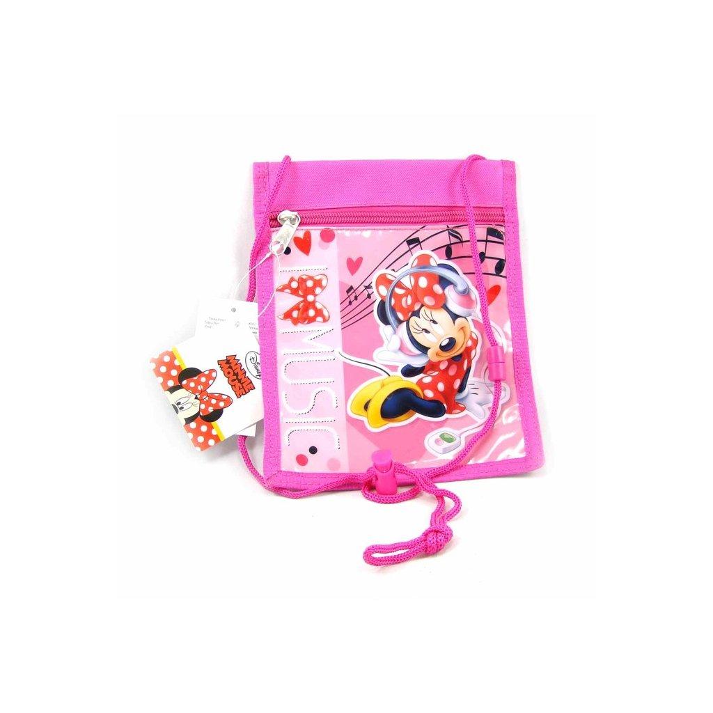 Dívčí peněženka na krk Minnie