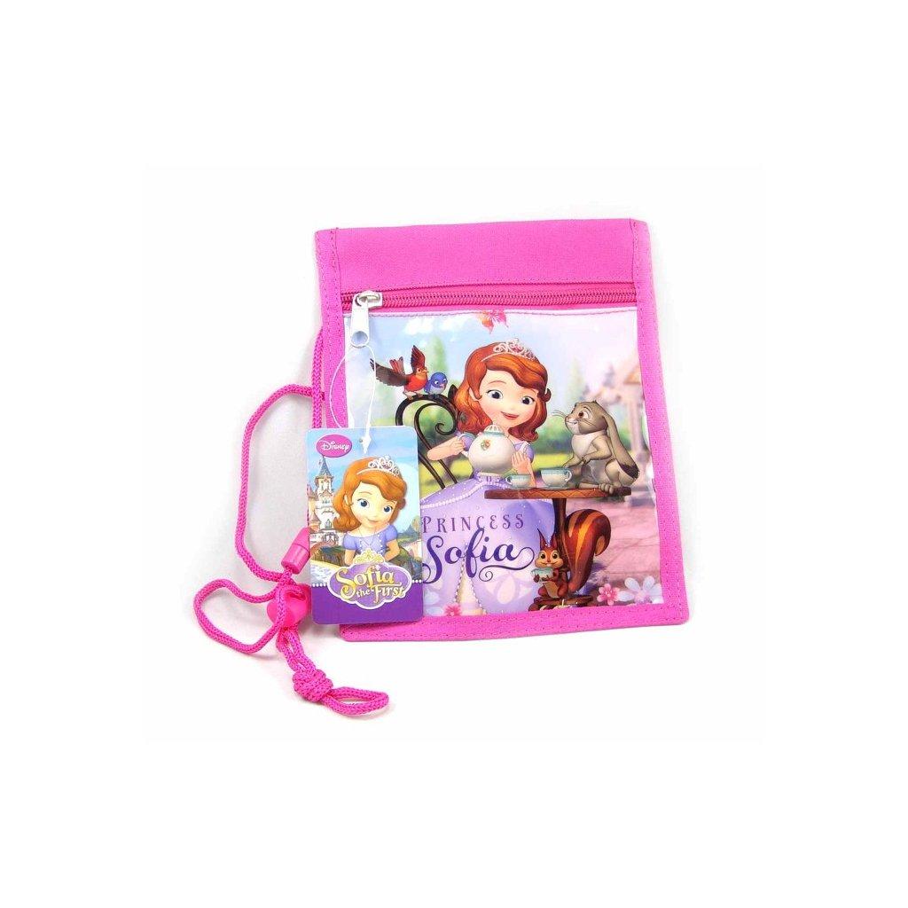 Dívčí peněženka Princess Sofia