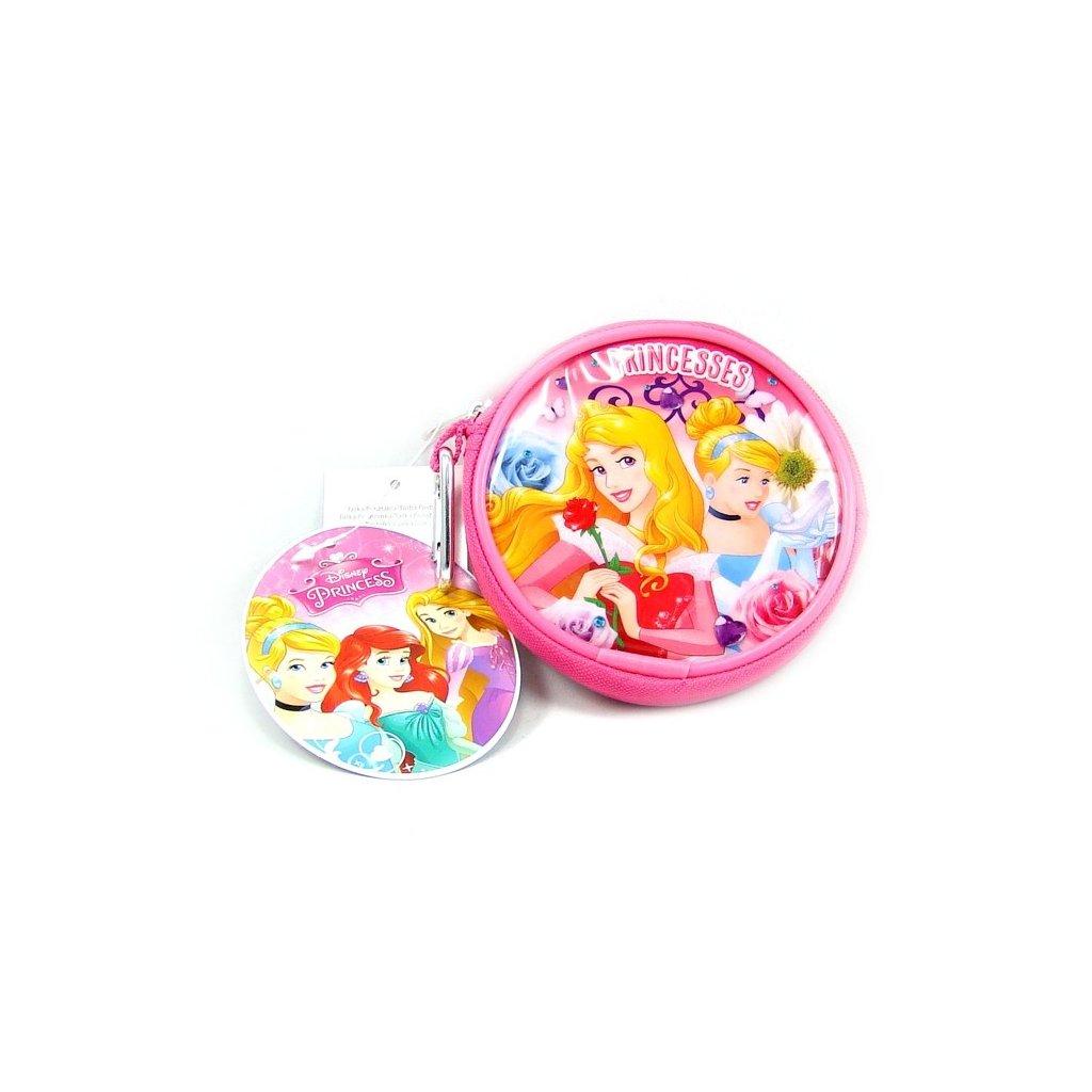 Dívčí kulatá peněženka Princess