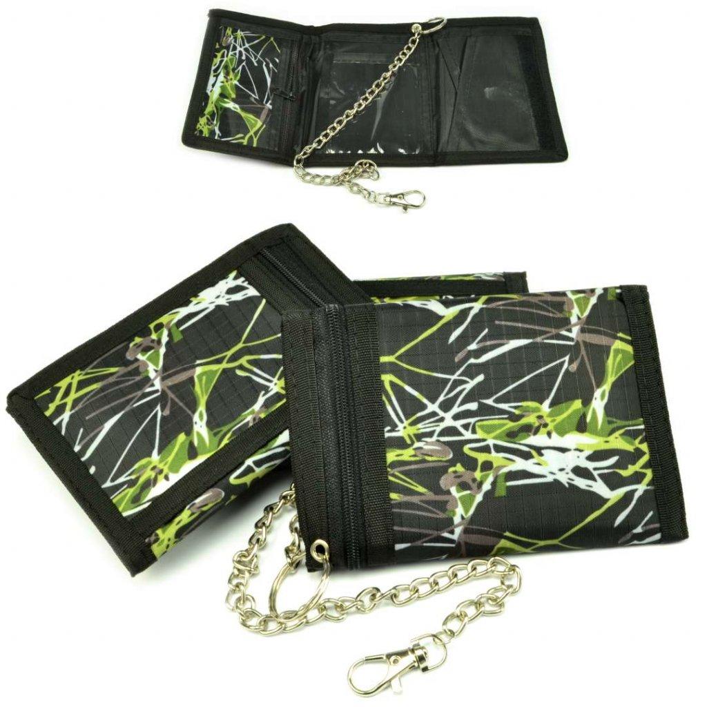 Sportovní peněženka černá - 1