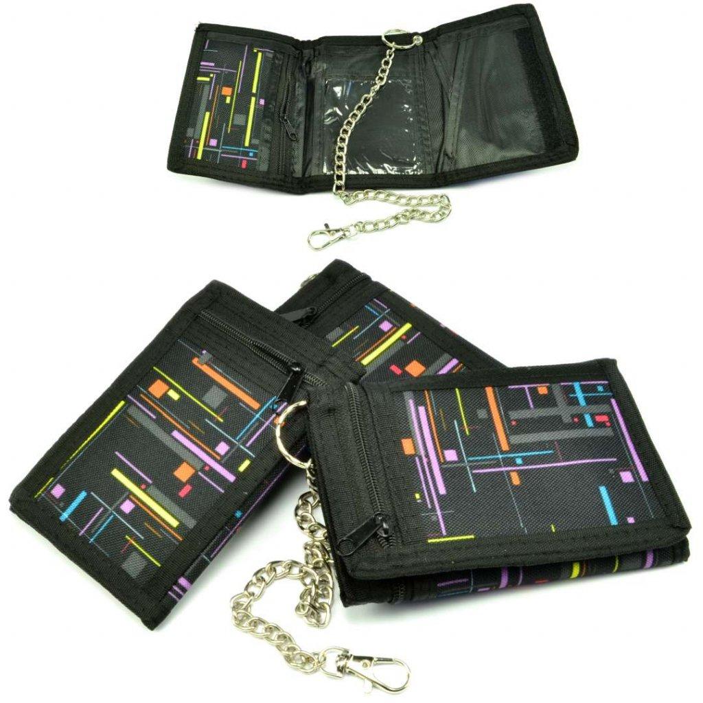 Černá sportovní peněženka - 1