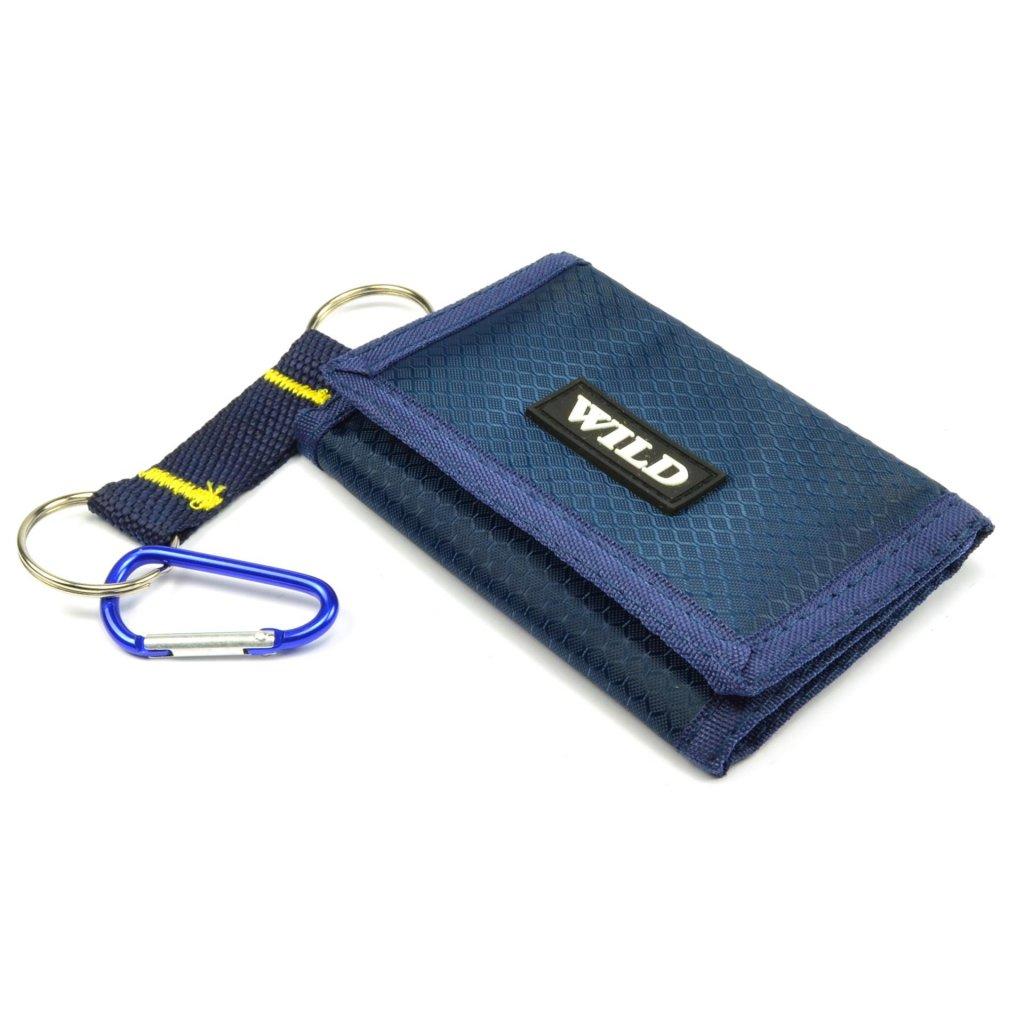 Modrá sportovní peněženka