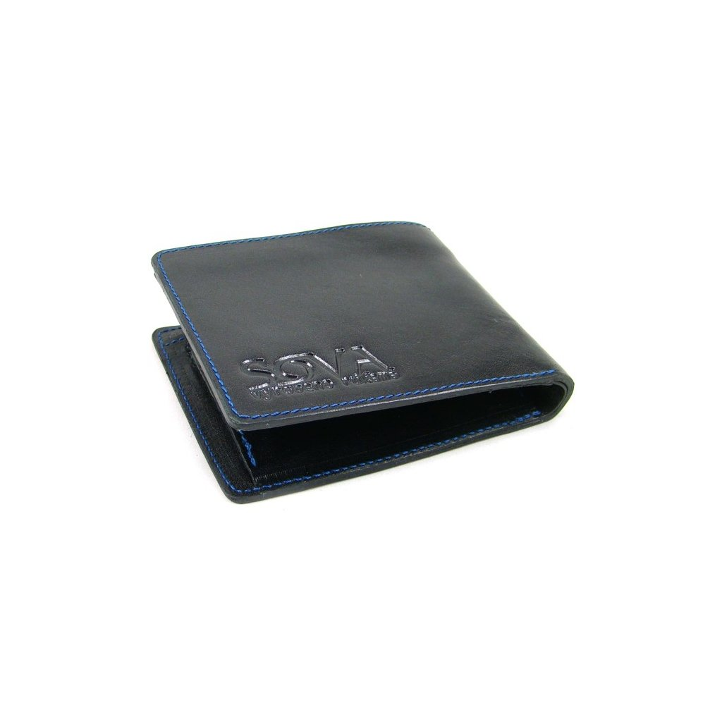 Pánská peněženka kožená TRE pro leváky Nero - 2