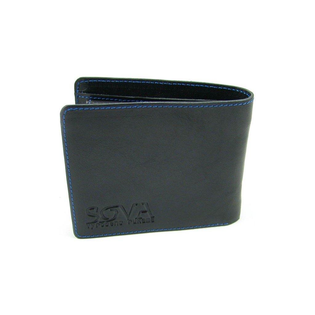 Pánská peněženka kožená TRE pro leváky Nero