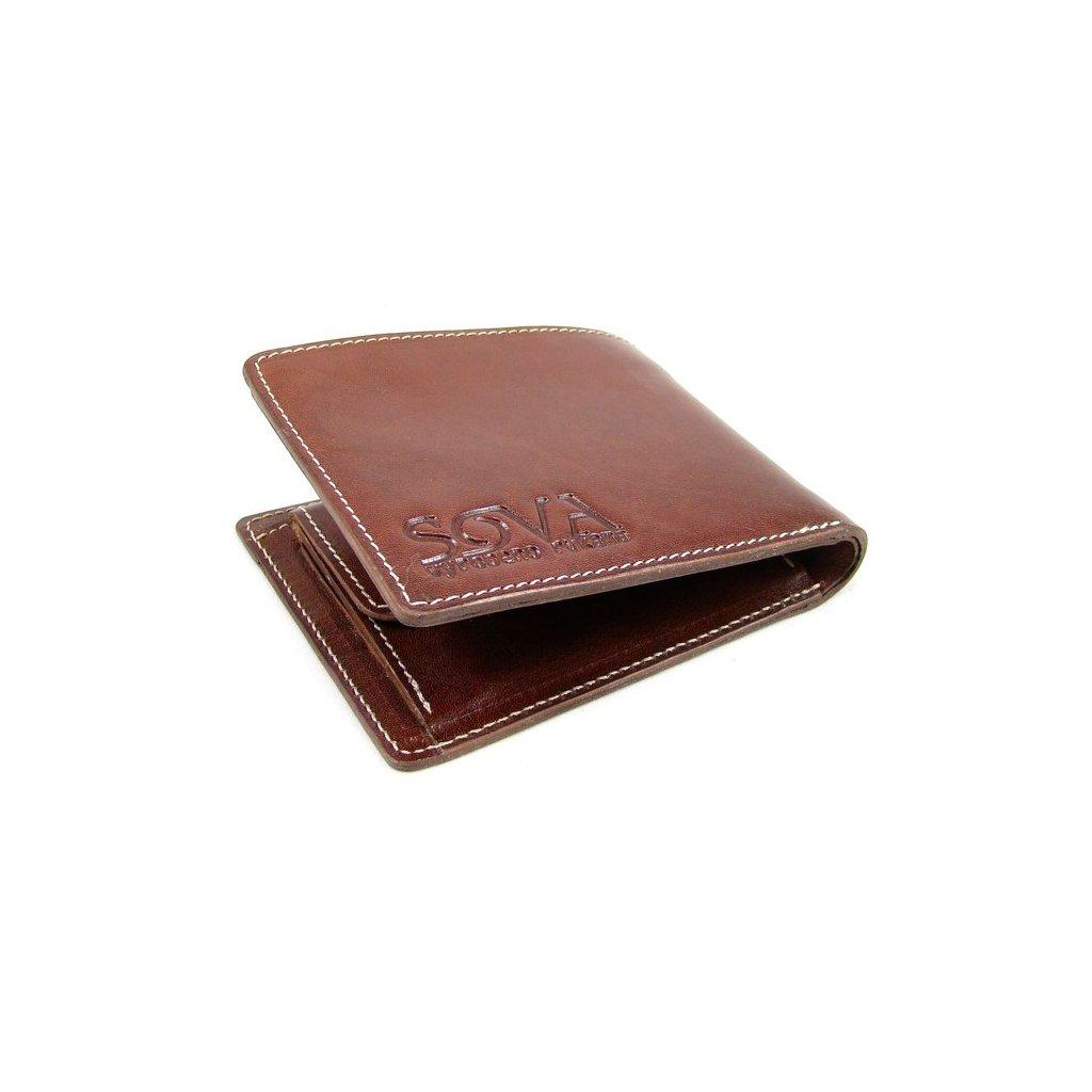 Pánská peněženka kožená TRE pro leváky Marrone - 2