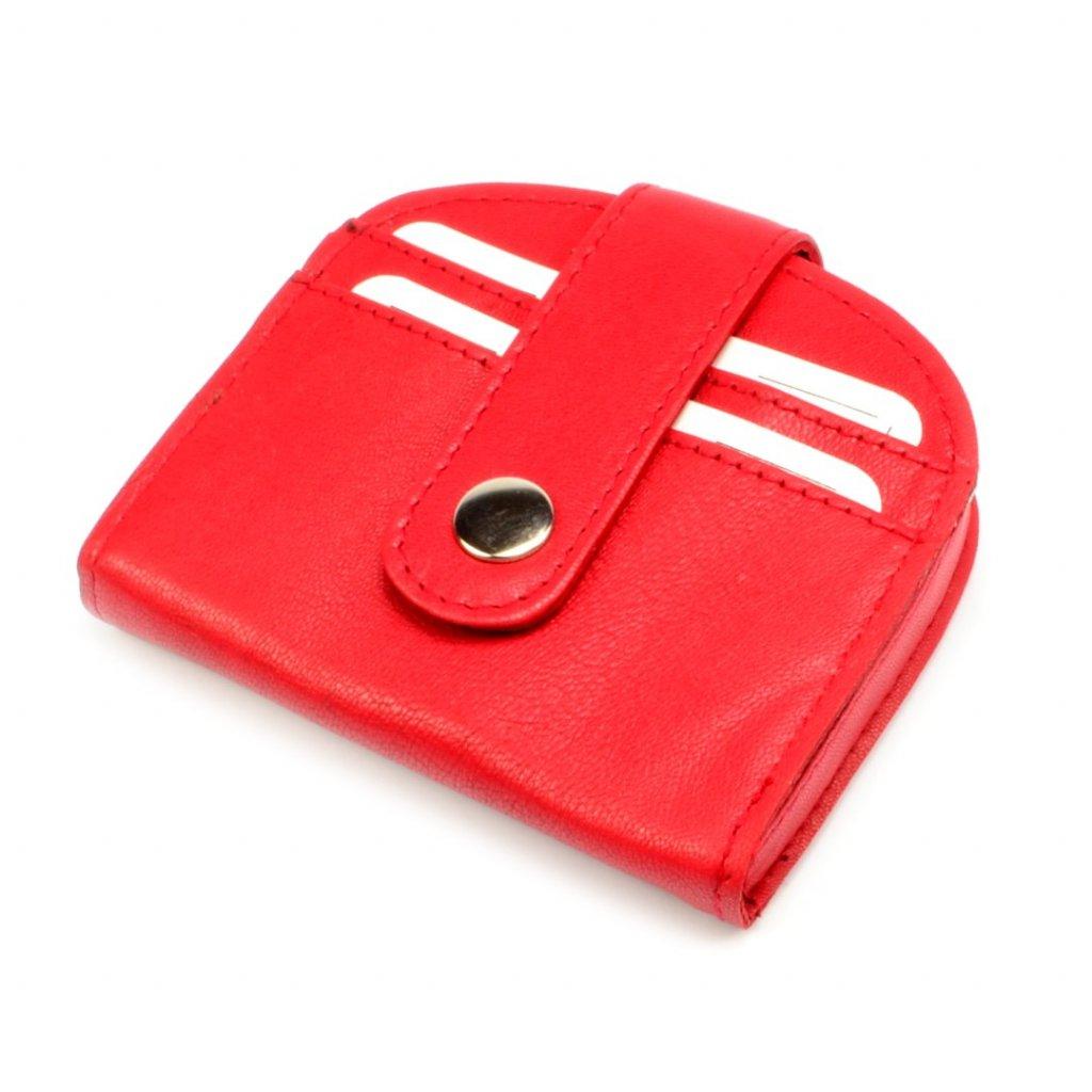 Červená kapsička na mince - 2