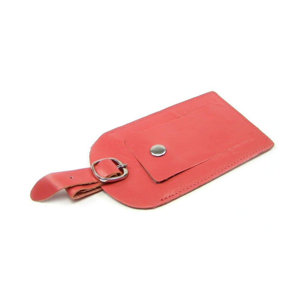 Visačka na kufr kožená luxusní - 1