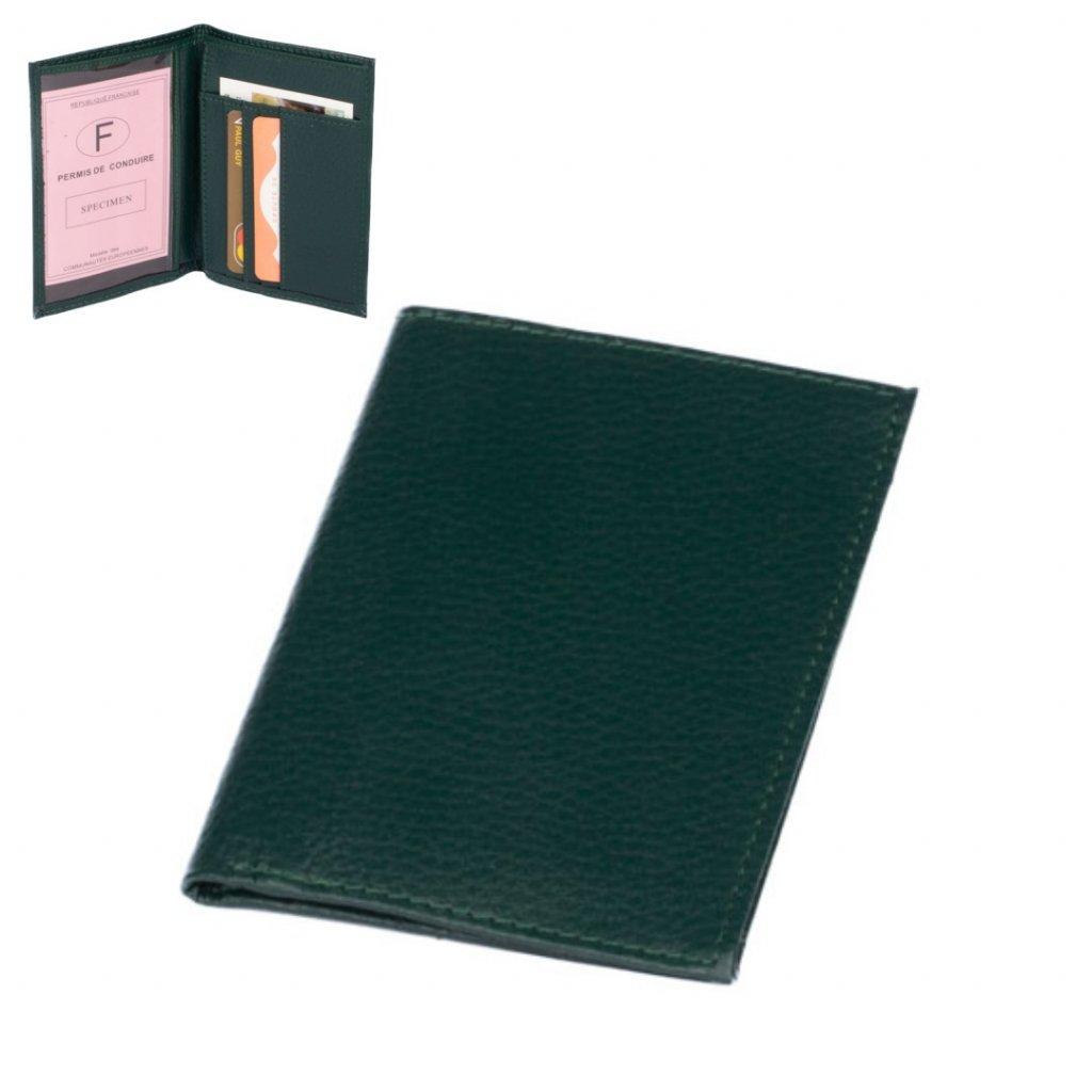 Barevné pouzdro na karty kožené - 1