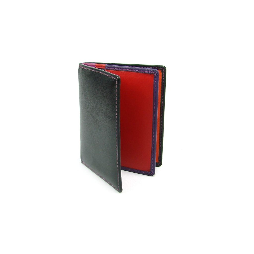 Pouzdro na karty kožené barevné - 1
