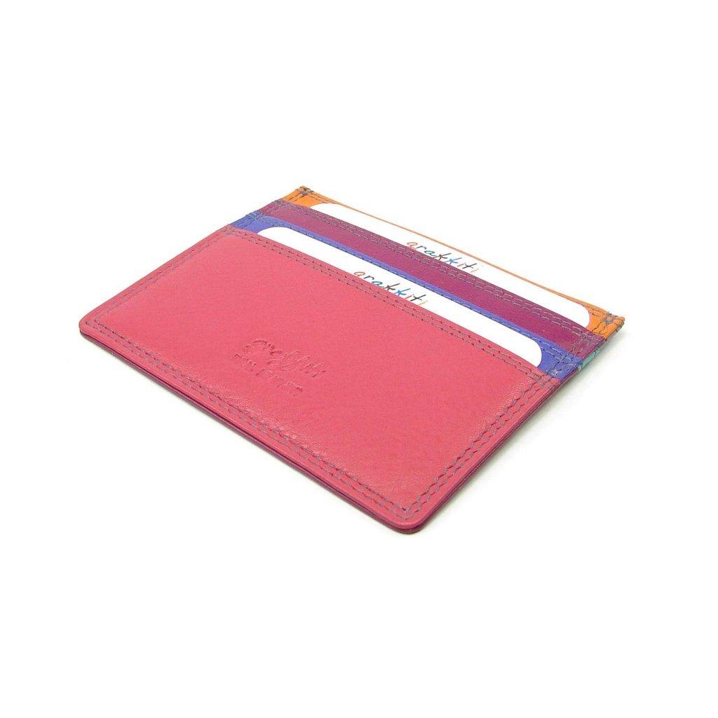 Malé kožené pouzdro na karty - 3