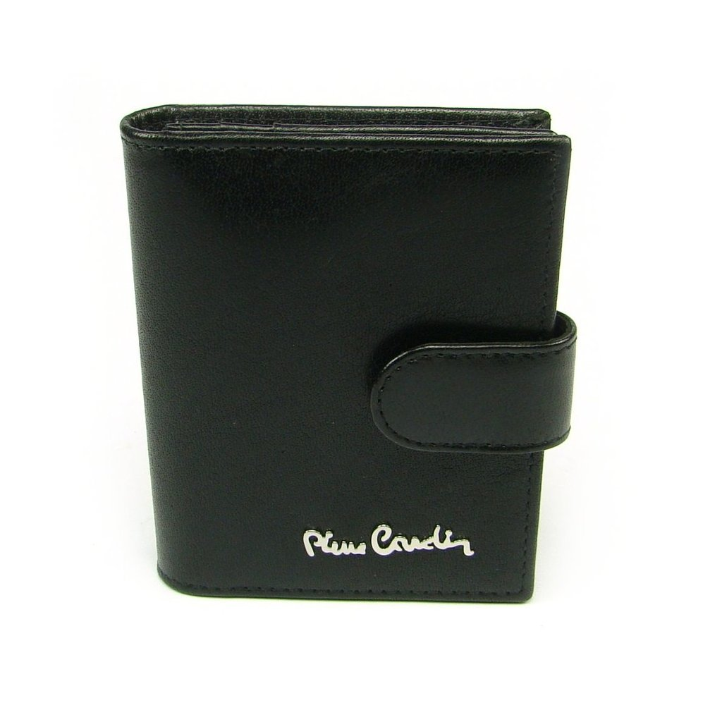 Kožené luxusní pouzdro na karty černé