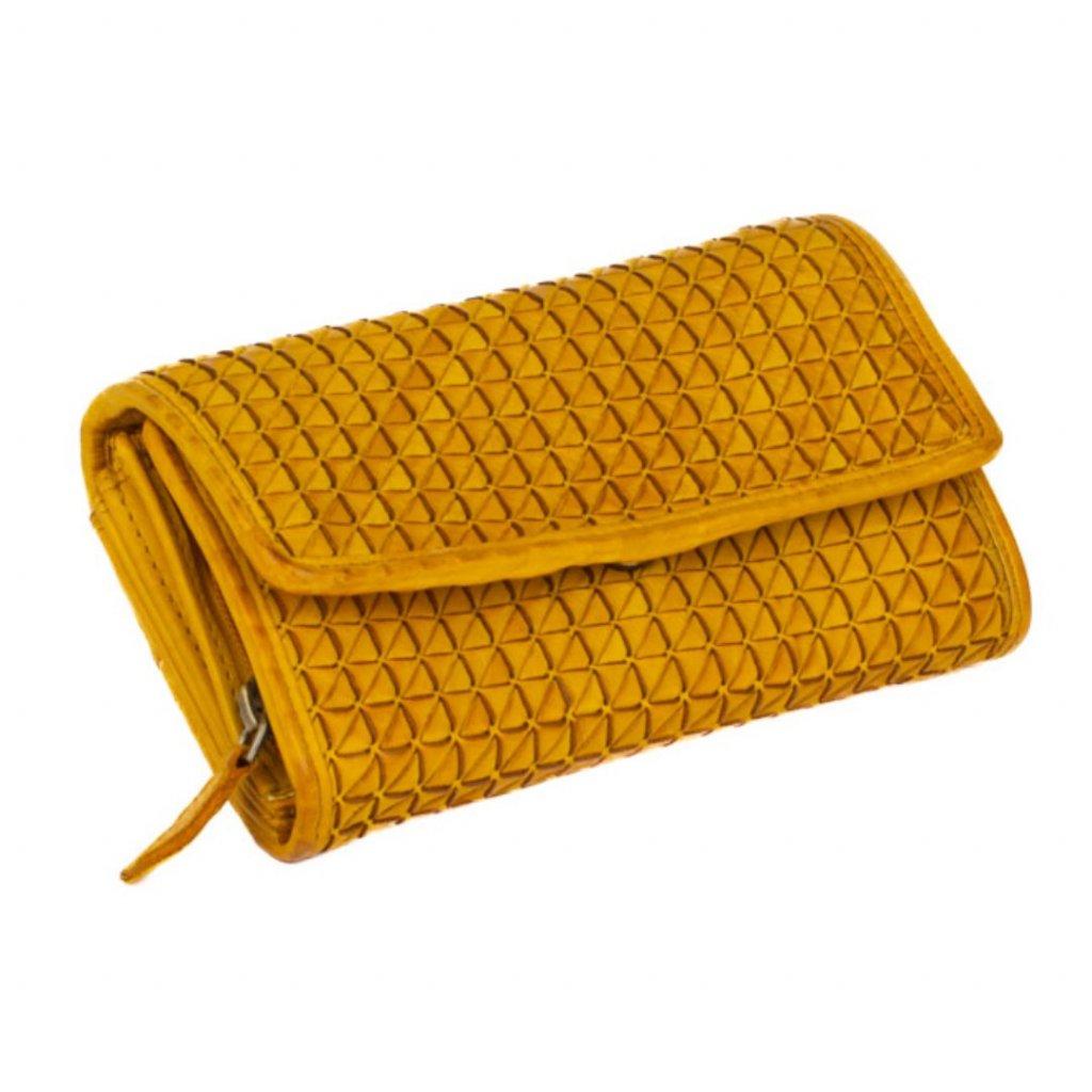 Kožená luxusní peněženka barevná - 2
