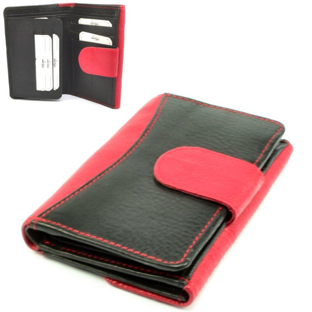 Dámská peněženka 9x19cm modrá