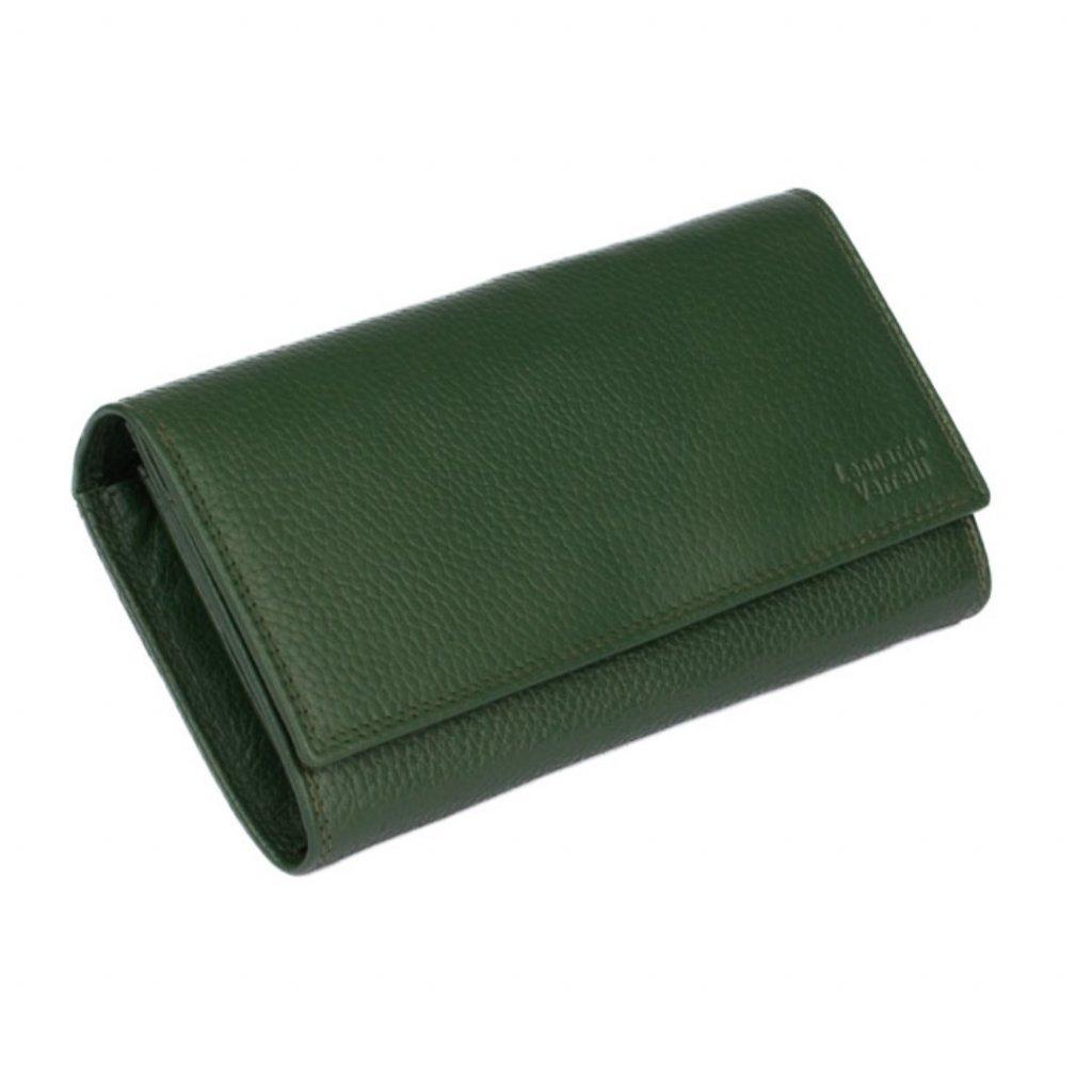 Stylová dámská peněženka zelená - 2