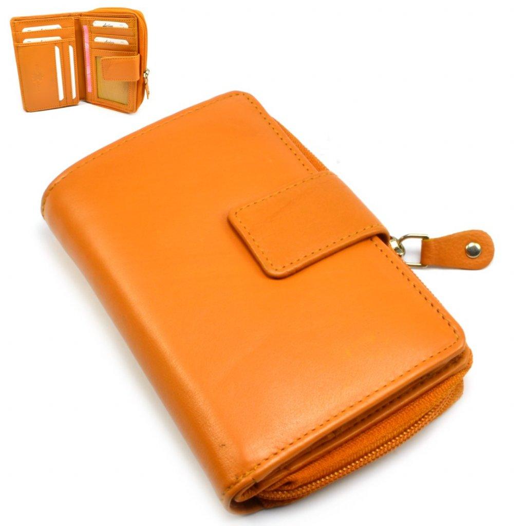 Malá peněženka oranžová