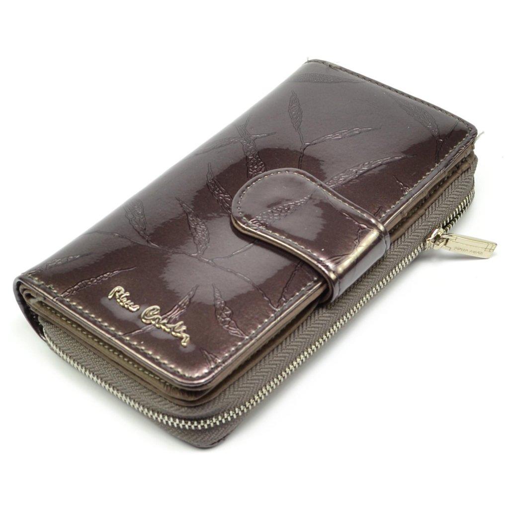 Hnědá dámská peněženka - 2