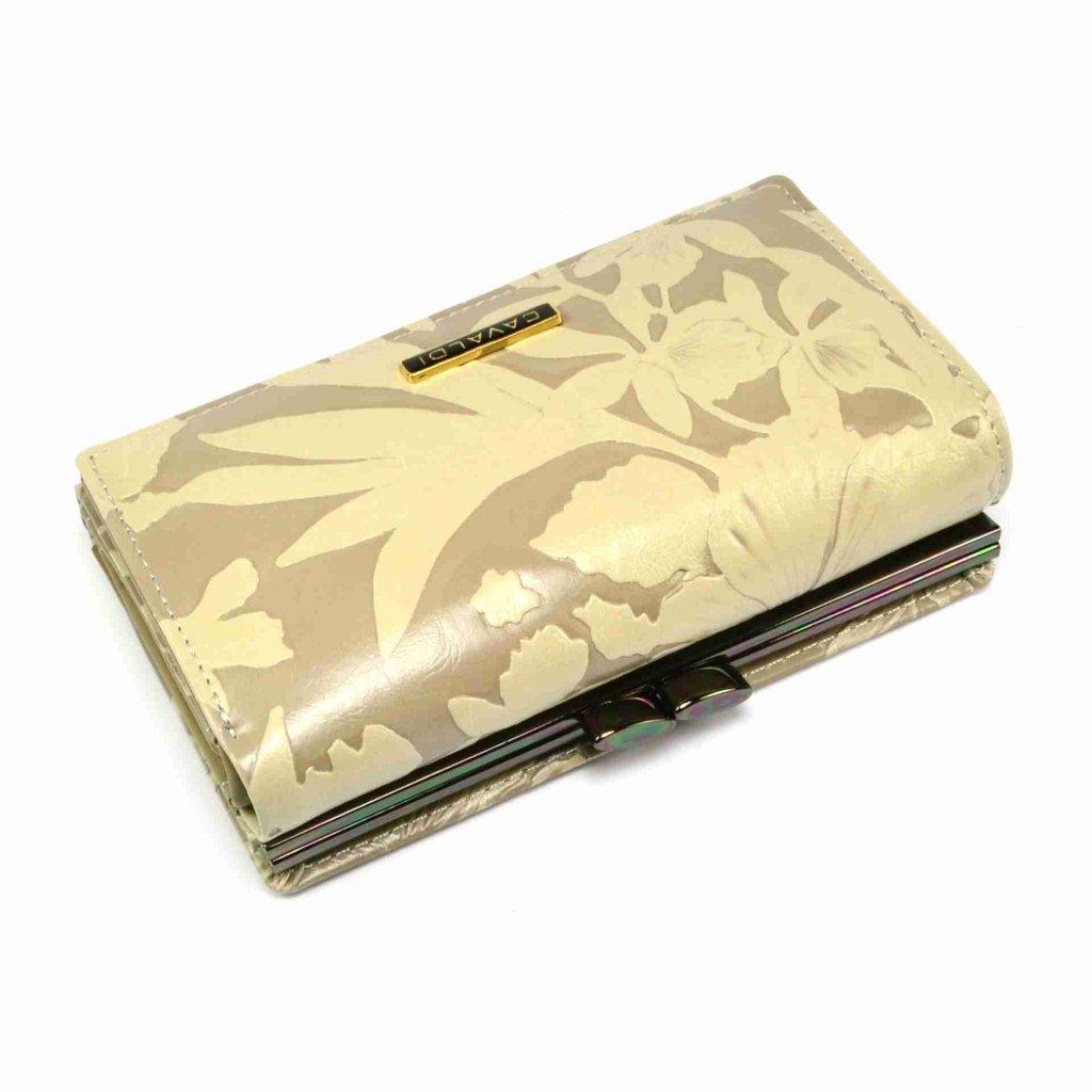 Hnědá dámská peněženka kožená - 2