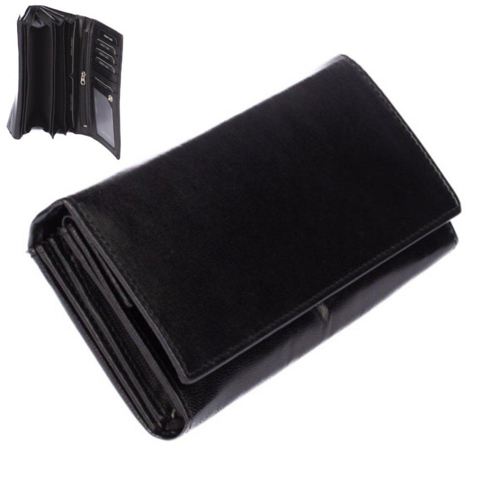 Dámská černá peněženka