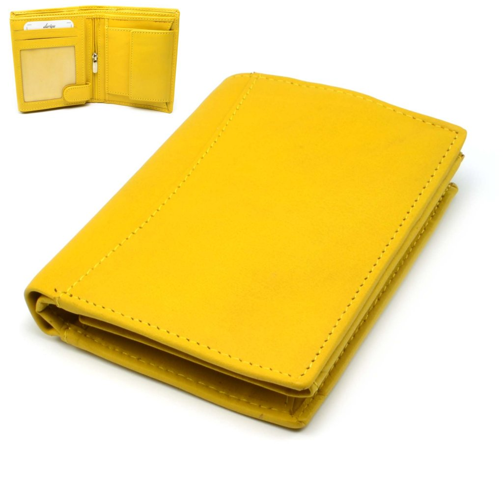 Dámská žlutá peněženka