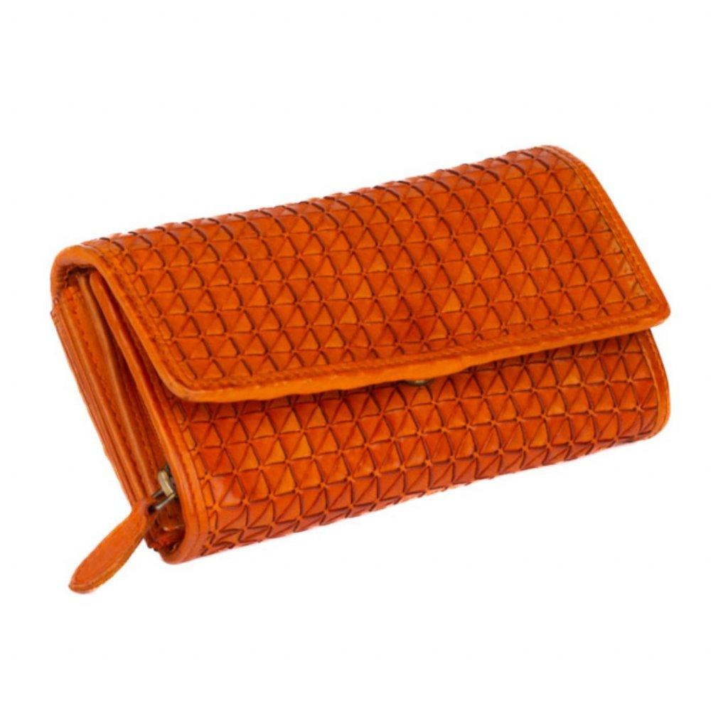 Luxusní peněženka kožená dámská - 2