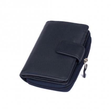 Barevná kožená dámská peněženka - 2