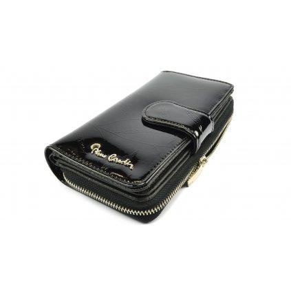 Černá kožená peněženka dámská - 2
