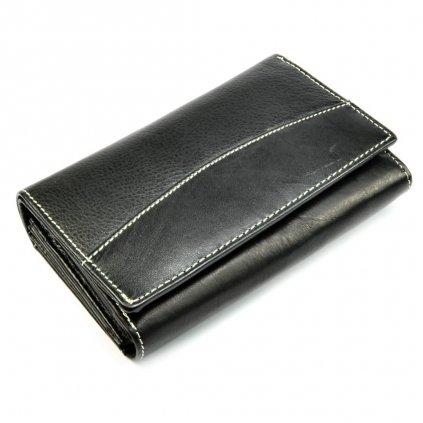 Černá dámská peněženka - 2
