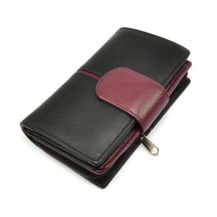 Stylová dámská peněženka černá - 2