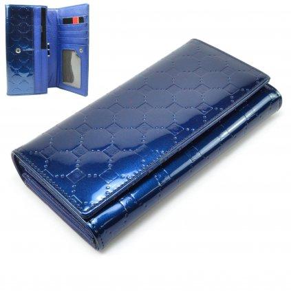 Dámská modrá peněženka