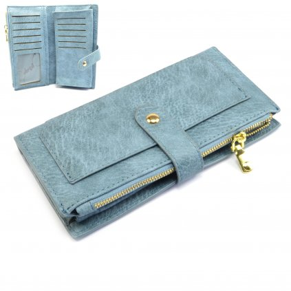 Moderní dámská peněženka velká - 1
