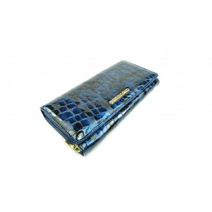 Barevná dámská kožená peněženka - 1