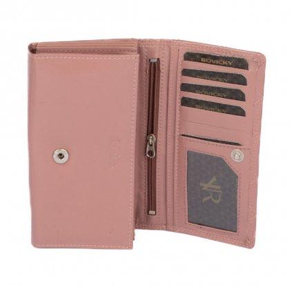 Dámská peněženka růžová - 5